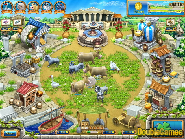 Farm Frenzy: Ancient Rome Game Download for PC