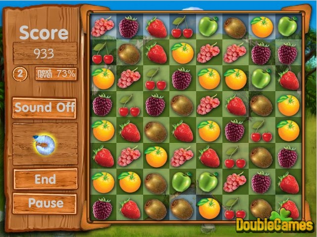 Fresh Fruit: Gold Match Online Game