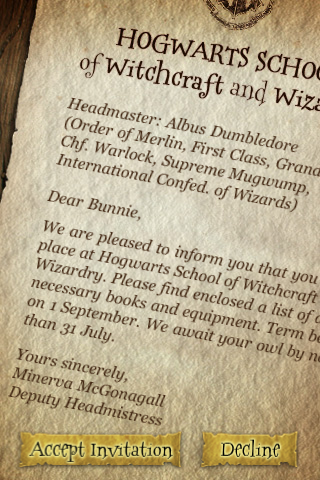 Free Download Harry Potter: Spells game for iPad & iPhone