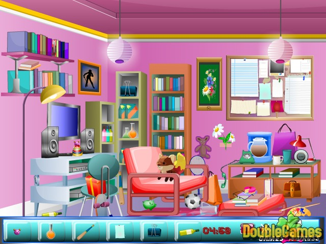 Hidden Objects: Study Room Online Game