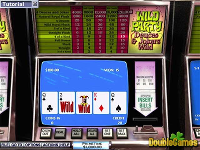 Pc video poker pkr roulette 3d