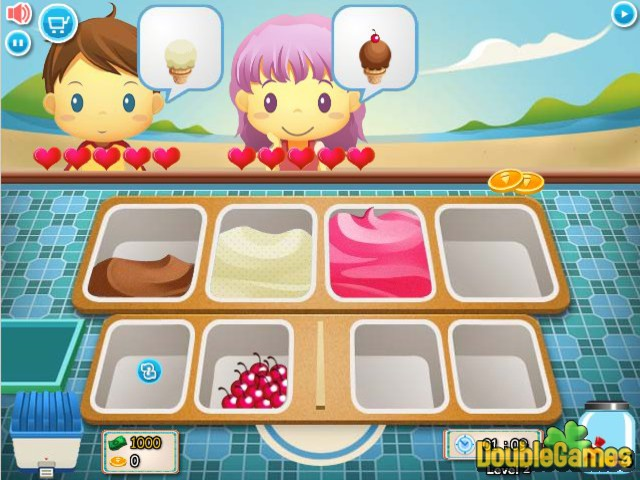 ice cream stand online game