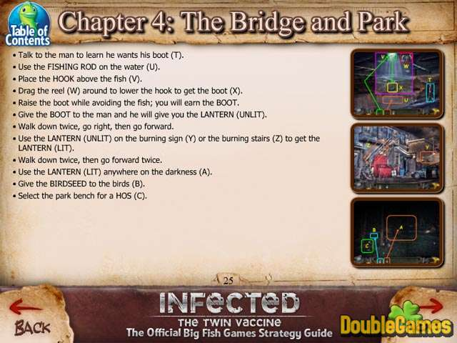Free Download Infected: The Twin Vaccine Strategy Guide Screenshot 1