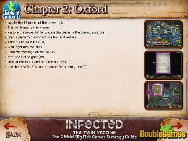 Free Download Infected: The Twin Vaccine Strategy Guide Screenshot 3