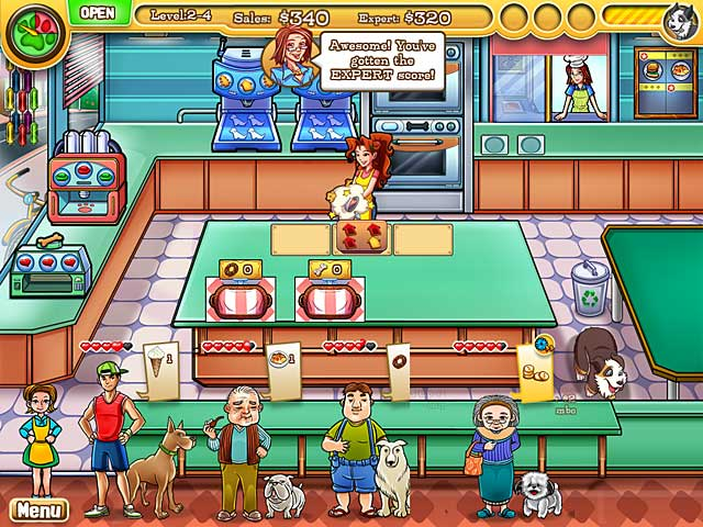 Free Download Jessica's Bow Wow Bistro game for iPad & iPhone