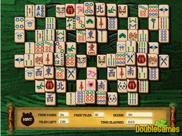 Free Download Kung Fu Panda 2 Mahjong Mayhem Screenshot 2