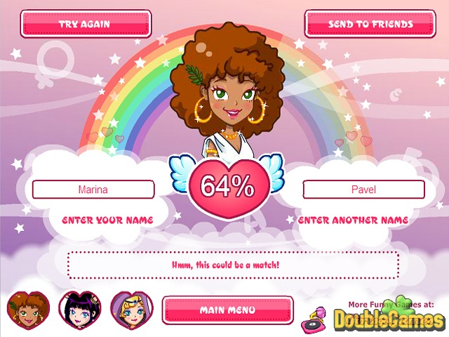 Agame com love tester deluxe