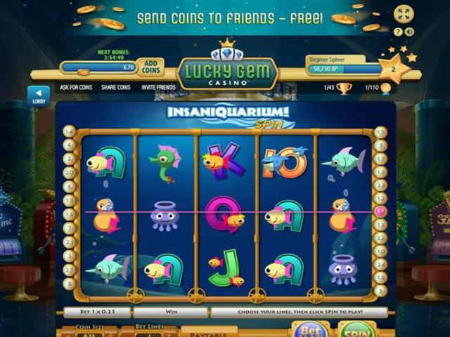 How to get free coins for lucky gem casino san manuel casino hotels