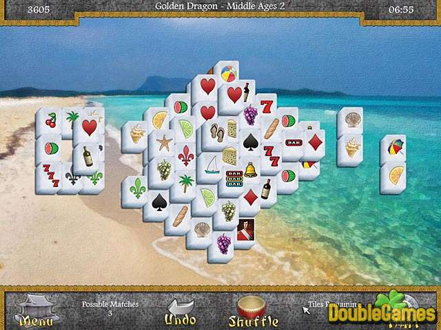 Free Download Mahjongg: Legends of the Tiles Screenshot 1
