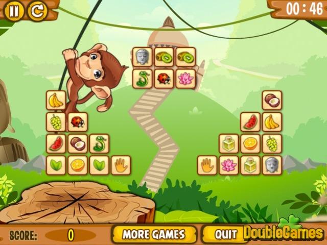 Monkey Mahjong Connect Online Game