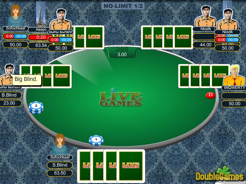 Omaha Poker Online Multiplayer Game
