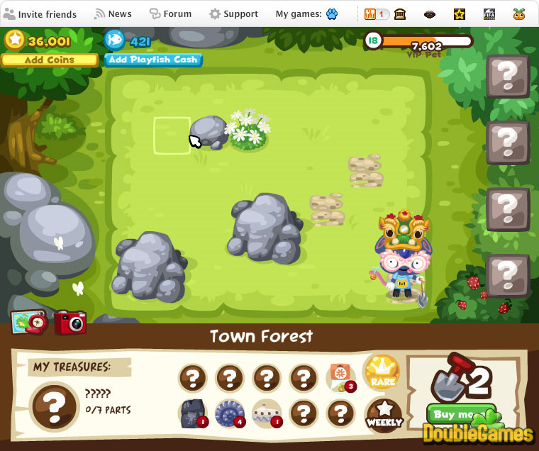 Pet Society online game on FaceBook: overview, walkthrough