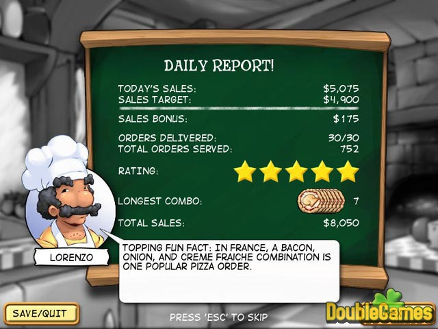 Pizza frenzy download.
