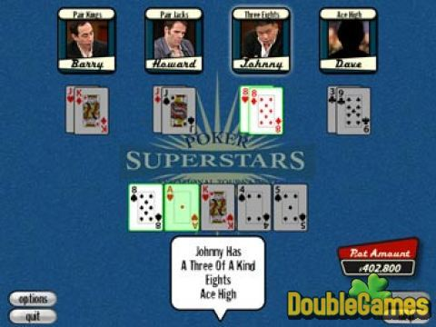 Free Download Poker Superstars Invitational Screenshot 3