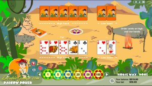 A striking and fascinating game Pai Gow Poker carries you back to the Stone Age.