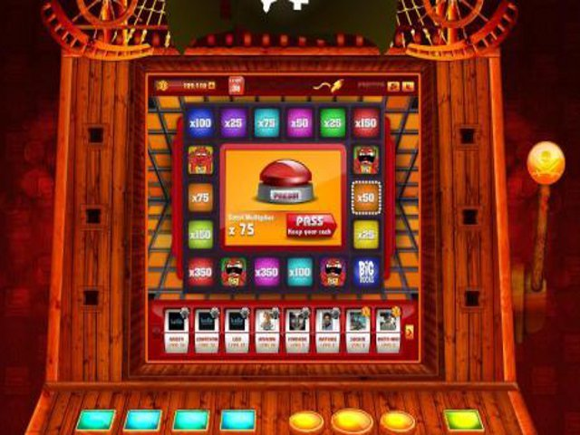 Press Your Luck Slot Machine