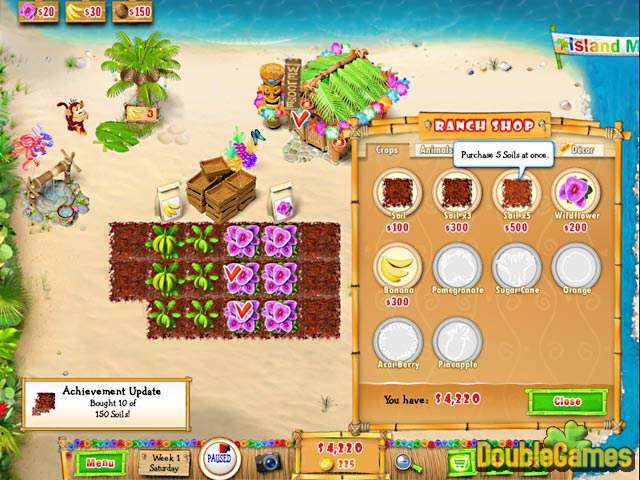 Ranch rush 2 sara's island experiment week 9 friday.