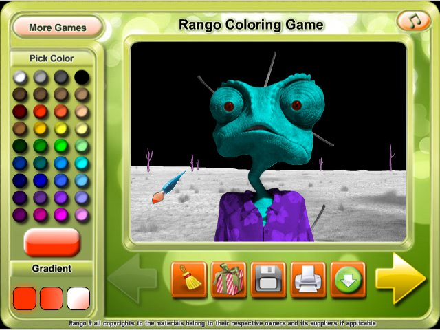 free download rango coloring game screenshot 3