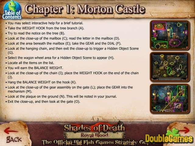 Free Download Shades of Death: Royal Blood Strategy Guide Screenshot 1