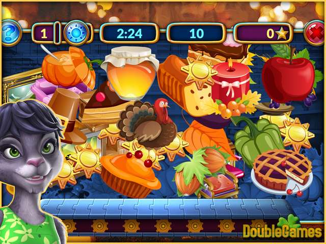 Free Download Shopping Clutter 4: A Perfect Thanksgiving Screenshot 1
