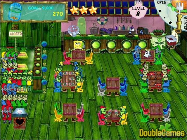 spongebob squarepants flip or flop game