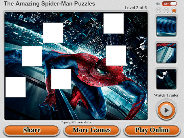 Free Download The Amazing Spider-Man Puzzles Screenshot 2