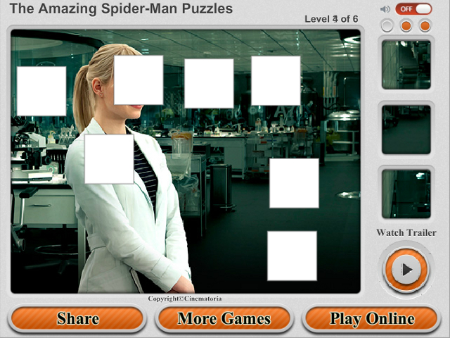 Free Download The Amazing Spider-Man Puzzles Screenshot 4