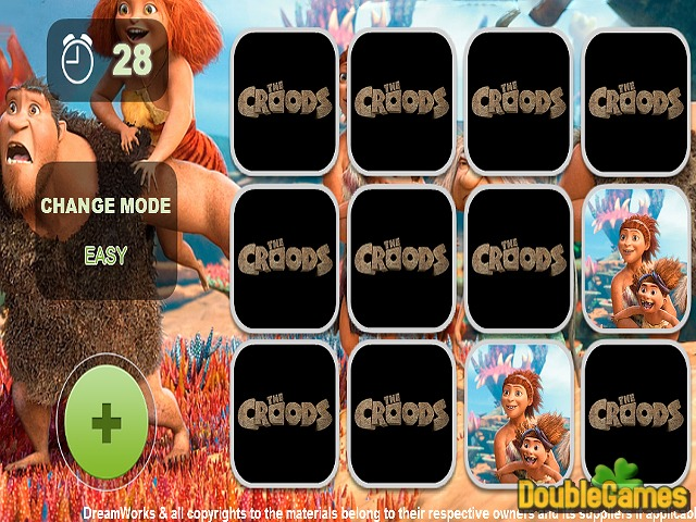 Free Download The Croods Memory Game Screenshot 1