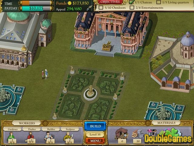 Free Download The Palace Builder Screenshot 2