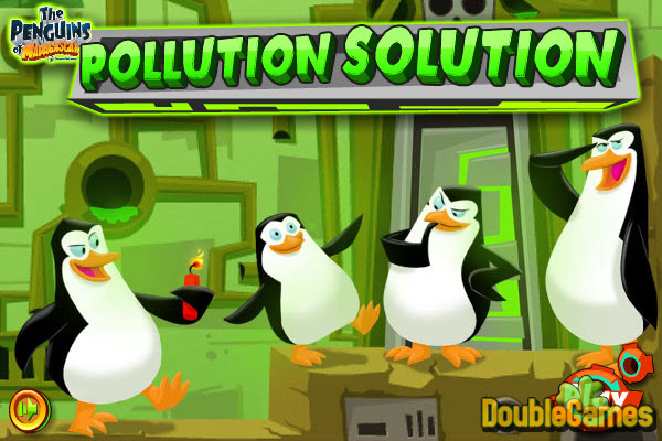The Penguins of Madagascar Pollution Solution Online Game