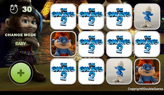 dress up smurfs 2 games