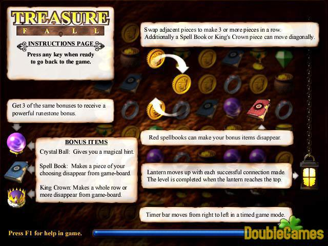 Free Download Treasure Fall Screenshot 3