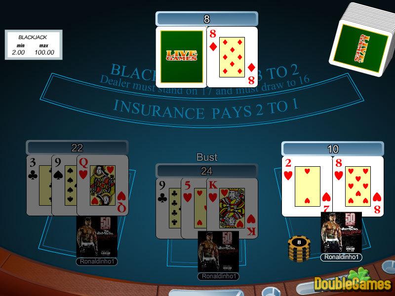 Play Online Casino Multiplayer Online Blackjack