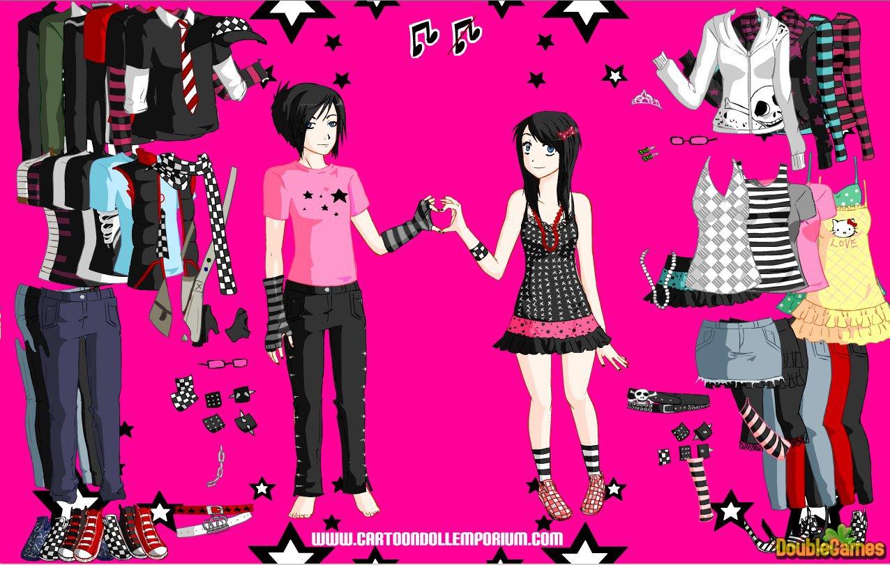 valentines dress up games