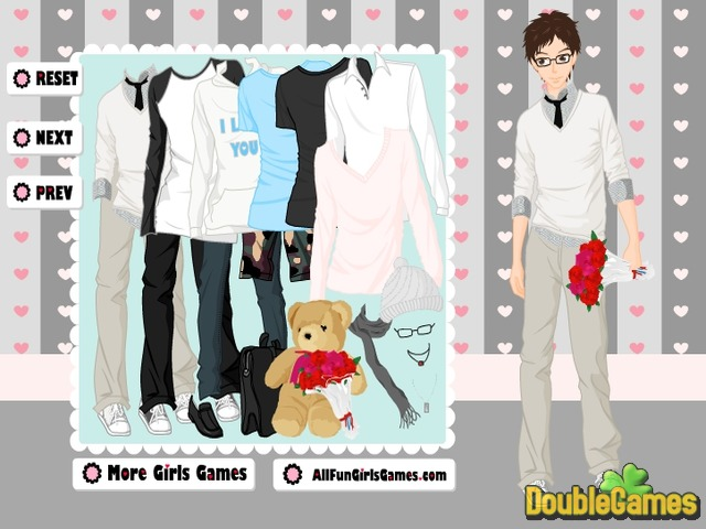 Free Download Valentine's Day Dress Up Game Screenshot 2