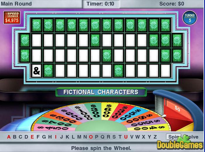 Wheel of fortune 2003 byron