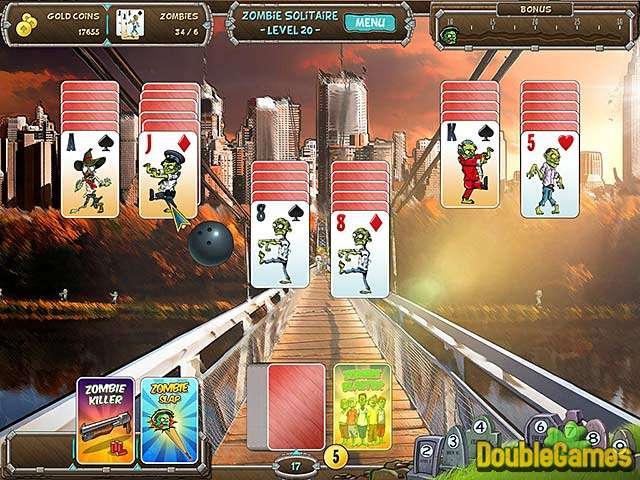 Free Download Zombie Solitaire Screenshot 1
