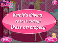 Free Download Barbie Driving Test Screenshot 1