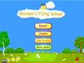 Free Download Chicken's Flying School Screenshot 1