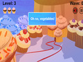 Free Download Cupcakes VS Veggies Screenshot 2