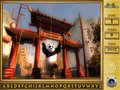 Free Download Kung Fu Panda 2 Find the Alphabets Screenshot 1