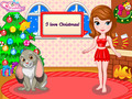 Free Download Princess Sofia Christmas Dressup Screenshot 1