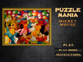 Free Download Puzzlemania. Mickey Mouse Screenshot 1