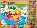 Free Download Winnie, Tigger and Piglet: Colormath Game Screenshot 2